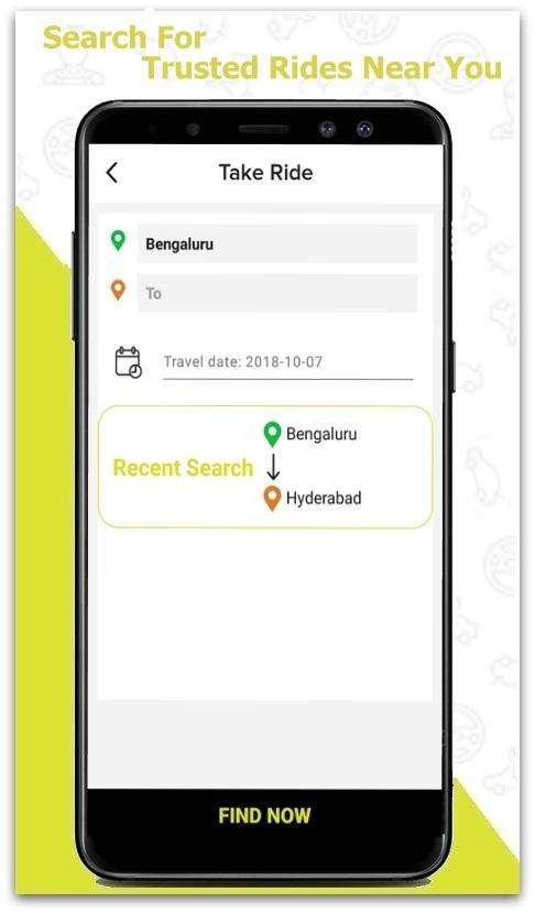 Carzrideon Trusted Carpooling App For Android Apk Download