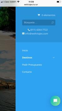 Welt Viajes screenshot 2