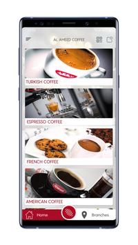 AL Ameed Coffee poster