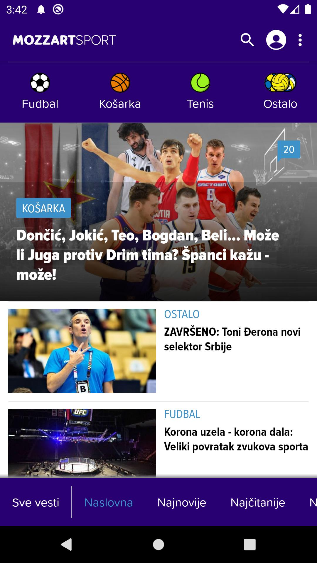Mozzart Sport For Android Apk Download