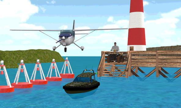 Airplane Ship Quad Road Trip poster