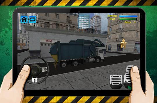 garbage truck simulator screenshot 4