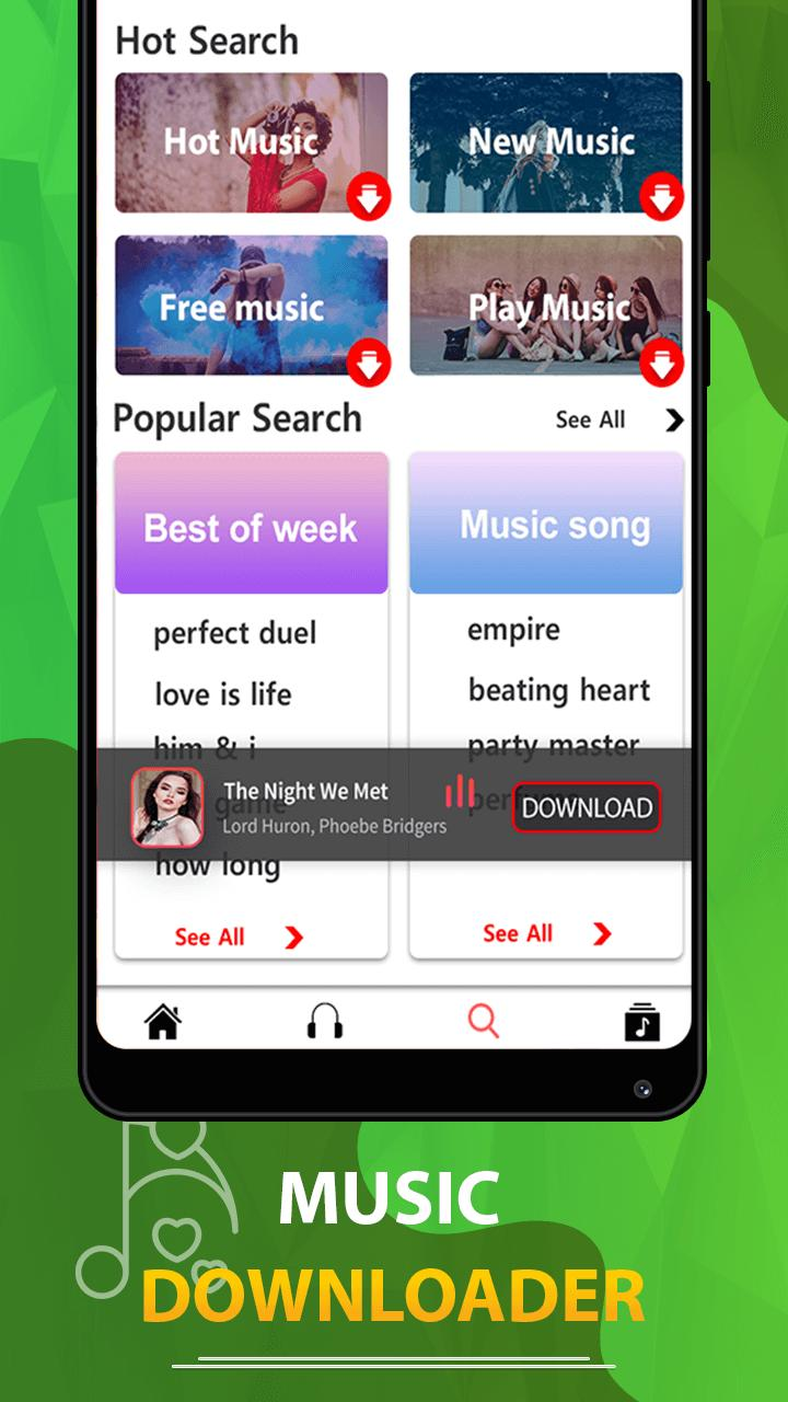 MP3 song downloader - Download free music for Android - APK Download
