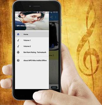 MP3 Nike Ardilla Offline screenshot 1