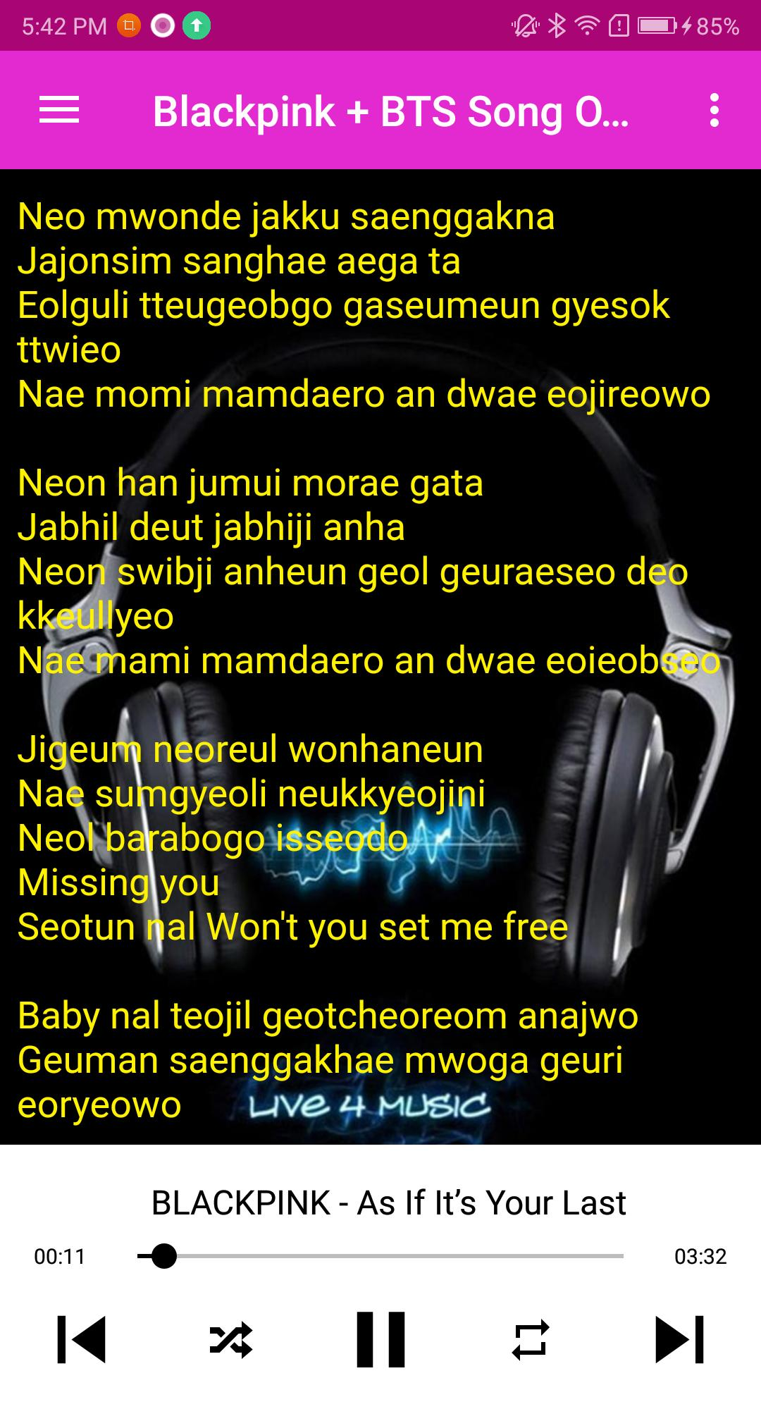 KPop Blackpink BTS Bingtanboys Song for Android - APK Download