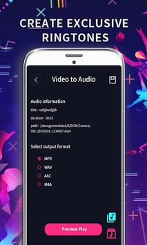 MP3 Editor: Cut Music, Video To Audio capture d'écran 4
