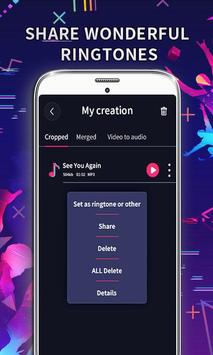 MP3 Editor: Cut Music, Video To Audio ảnh chụp màn hình 5
