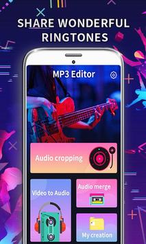 MP3 Editor: Cut Music, Video To Audio Affiche
