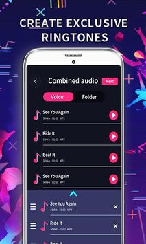 MP3 Editor: Cut Music, Video To Audio capture d'écran 2