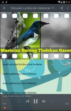 Masteran Burung Tledekan Gacor screenshot 4
