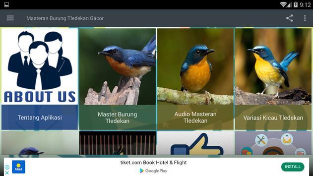 Masteran Burung Tledekan Gacor screenshot 6