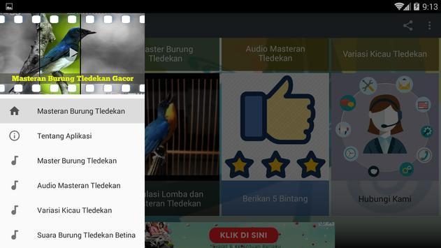 Masteran Burung Tledekan Gacor screenshot 8