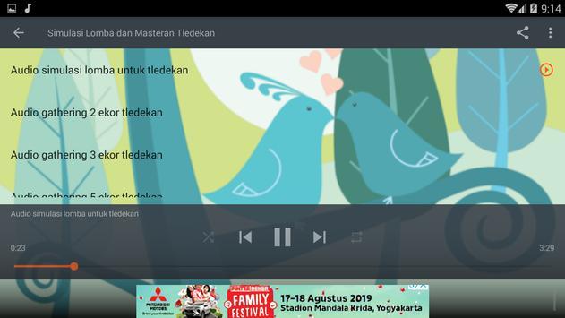 Masteran Burung Tledekan Gacor screenshot 9