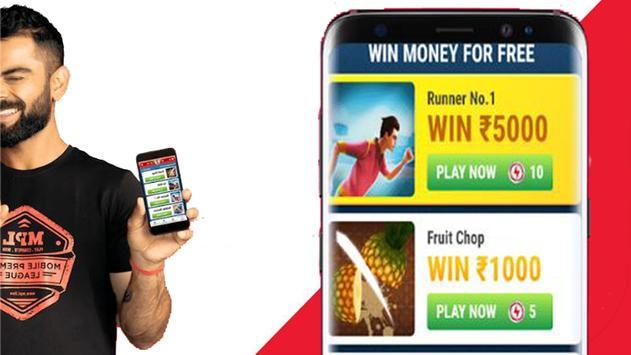 Tips MPL - MGL (Mobile Game League ) to earn money screenshot 1