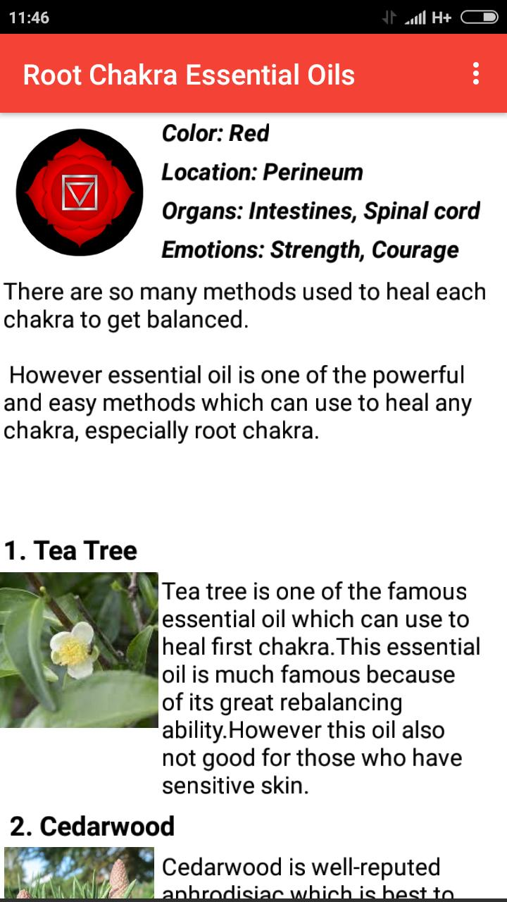 Chakra Essential Oil for Android - APK Download