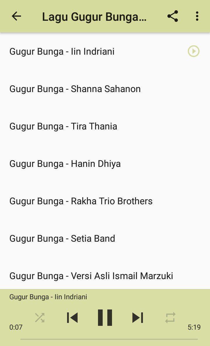 Lagu Gugur Bunga Mp3 Offline For Android Apk Download