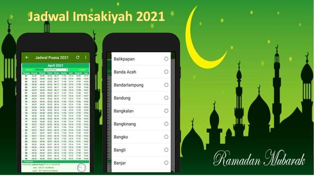 Jadwal Imsakiyah 2021 poster