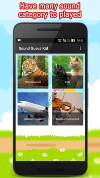 Sound Guess Kids poster
