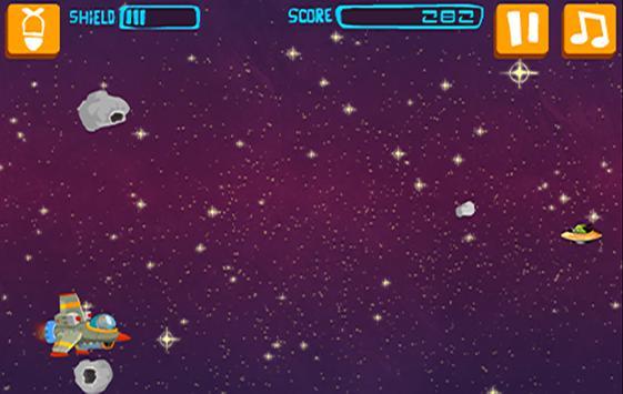 Rocket Spacer - Meteor Storm screenshot 2