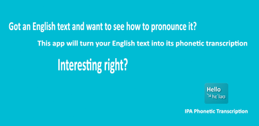 English Text to Phonetic