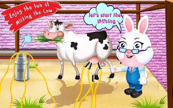 Dry milk factory – Dairy farming Land Simulator poster