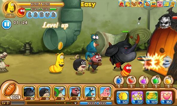Larva Heroes screenshot 4