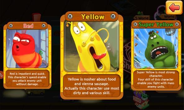 Larva Heroes screenshot 1