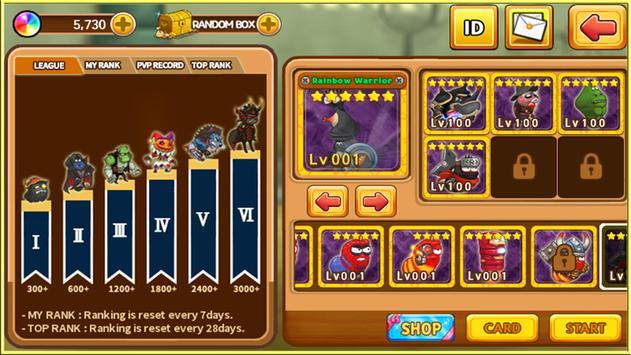Larva Heroes: Battle League screenshot 1