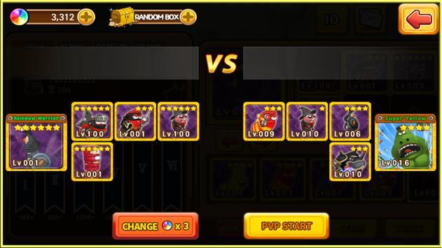 Larva Heroes: Battle League screenshot 2