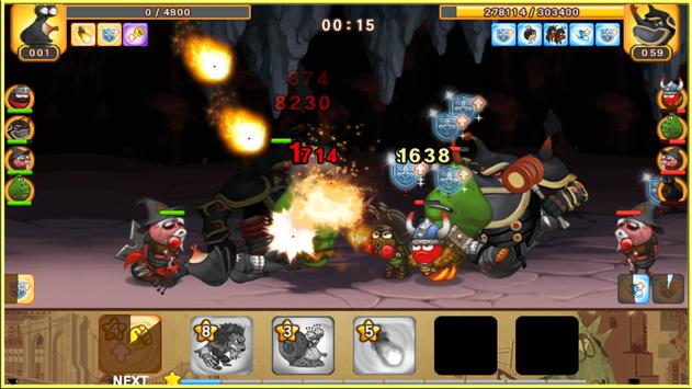 Larva Heroes: Battle League screenshot 3