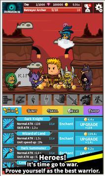 Tap Little Hero : Clicker Game screenshot 1