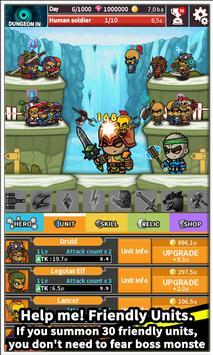 Tap Little Hero : Clicker Game screenshot 2