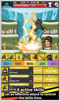 Tap Little Hero : Clicker Game screenshot 8