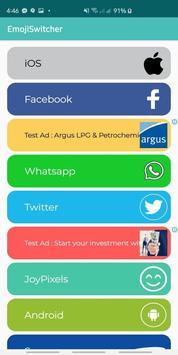 Emoji Switcher PRO for FB (ROOT) screenshot 3
