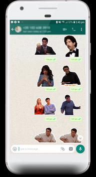 Friends TV Show Stickers for WhatsApp poster