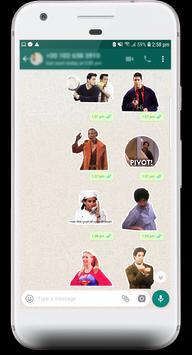 Friends TV Show Stickers for WhatsApp screenshot 2
