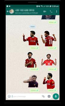 Mo Salah stickers for WhatsApp imagem de tela 2