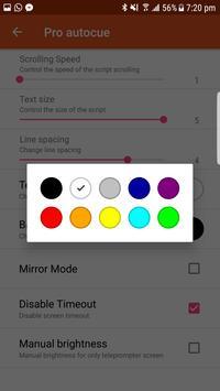 Pro autocue screenshot 5