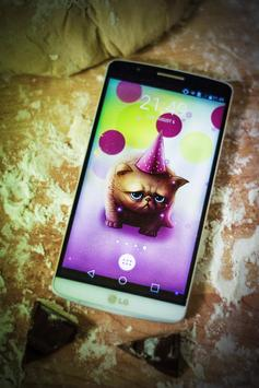 Birthday Cat Cute Live Wallpaper For Kids Play For Android Apk