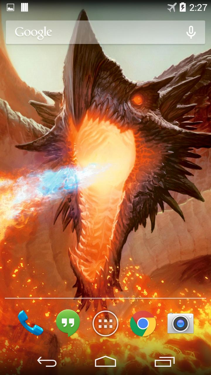 Magic Dragon Live Wallpaper For Android Apk Download