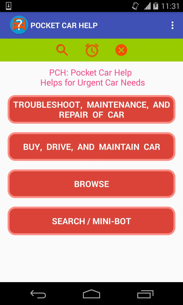 PCH: DIY Car Problem Finding & Troubleshoot Help for Android