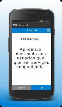 MR Logística - Cliente poster