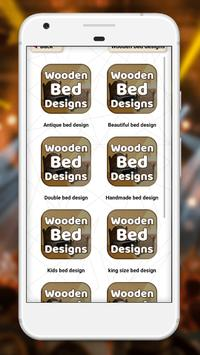 Wooden bed designs screenshot 1