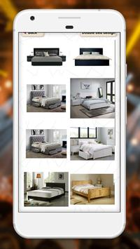 Wooden bed designs screenshot 7