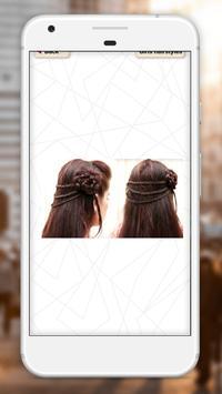 Girls hairstyles step by step screenshot 7