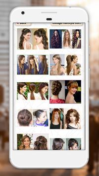 Girls hairstyles step by step screenshot 5
