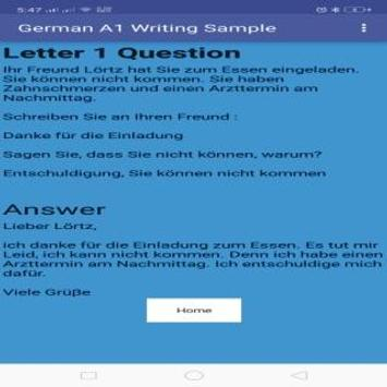 Goethe A1 schreiben Letters for Android - APK Download