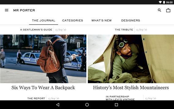 MR PORTER | Luxury Men's Fashion screenshot 12