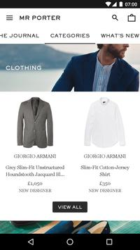 MR PORTER | Luxury Men's Fashion screenshot 1