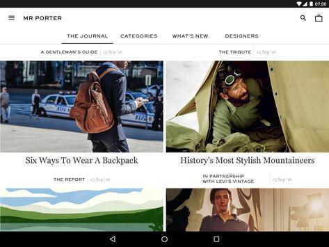 MR PORTER | Luxury Men's Fashion screenshot 7